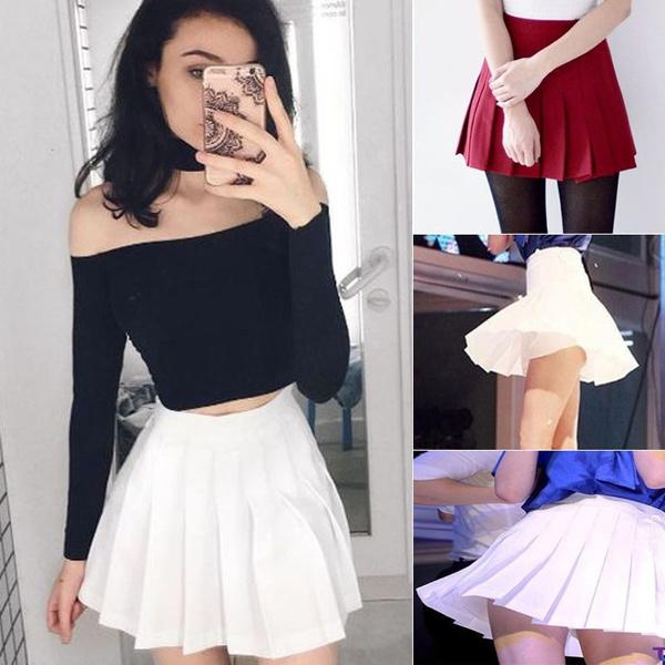 Mini, Shorts, skirts female, Waist