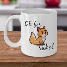 ohforfoxsakemug, Coffee, Funny, Fox