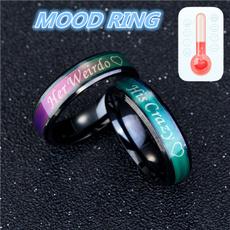 Couple Rings, King, Girlfriend Gift, Fashion