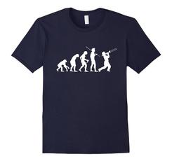 Funny, mensfashionloosetshirt, evolutiontshirt, mensshortsleevetshirt