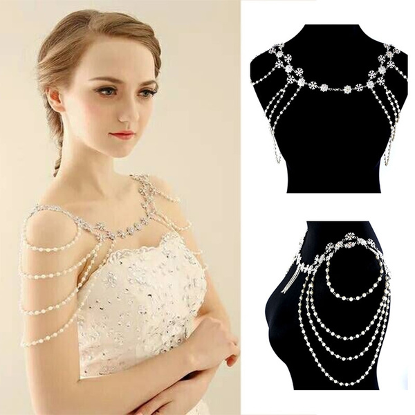Wedding, Head, Jewelry, pearls
