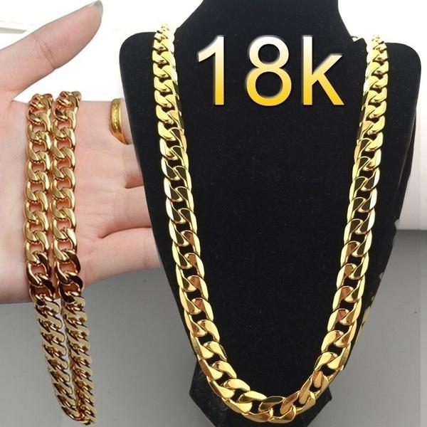 Chain Necklace, Fashion, gold, Chain