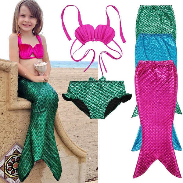 Mermaid leggings, Cosplay, kidsswimsuit, swimmablemermaidtail