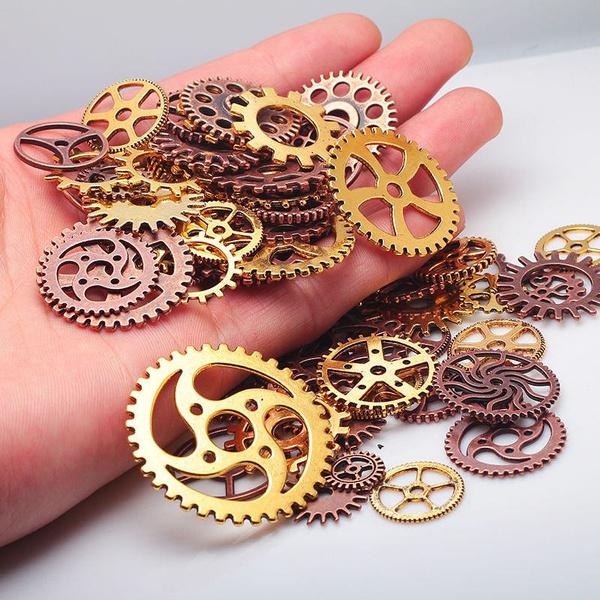 Copper, gear, Jewelry Making, Steampunk