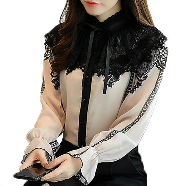 blouse, knitwear, Fashion, Lace