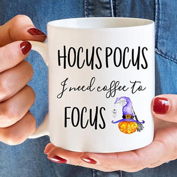 Funny, Coffee, Mug, hocuspocusmug