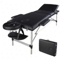 3section, case, adjustableheadrest, folding