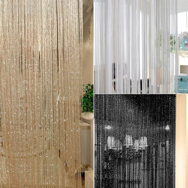 hangingcurtain, Decor, Door, Home Decor