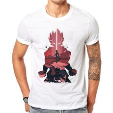 Summer, Fashion, Cotton T Shirt, topsamptshirt
