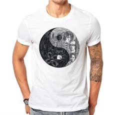 Fashion, Cotton T Shirt, topsamptshirt, short sleeves
