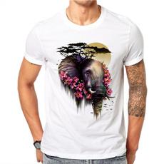 Fashion, art, Cotton T Shirt, Colorful