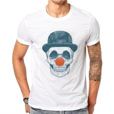 Fashion, Cotton T Shirt, topsamptshirt, Harajuku