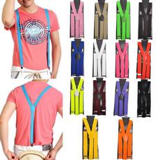 suspenders, cargopantsformen, suspenderbeltsclip, Elastic