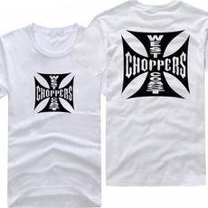 Round neck, Fashion, chopper, Shirt