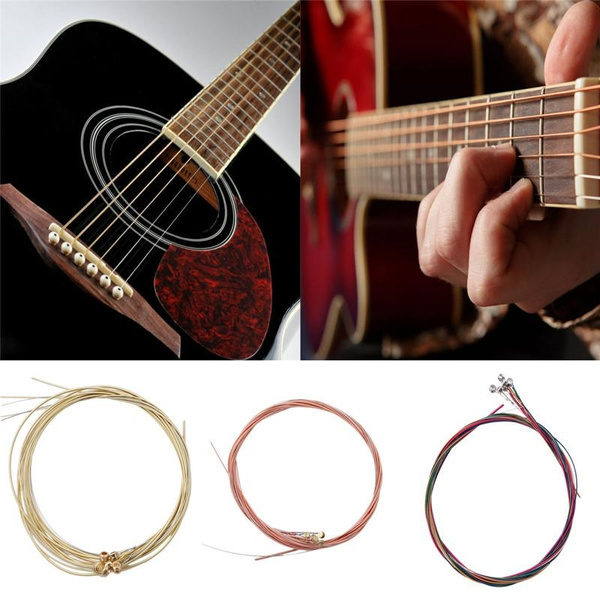 Steel, rainbow, guitarstring, Colorful