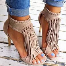 stilettoheel, Summer, Sandals, highheelsforwomen