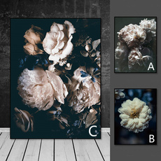 wallartcanva, gicleepainting, abstractcanva, Flowers