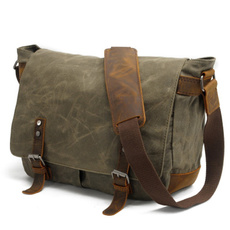 Shoulder Bags, School, laptopmessengerbag, Canvas