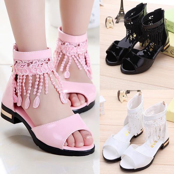 Summer Girls Tassel Roman Sandals Girl