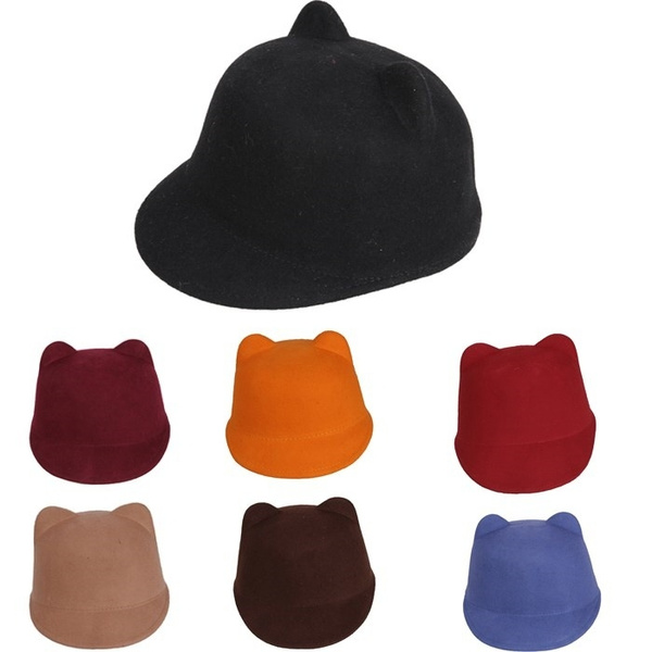 sun hat, Winter, woolhat, catearhat
