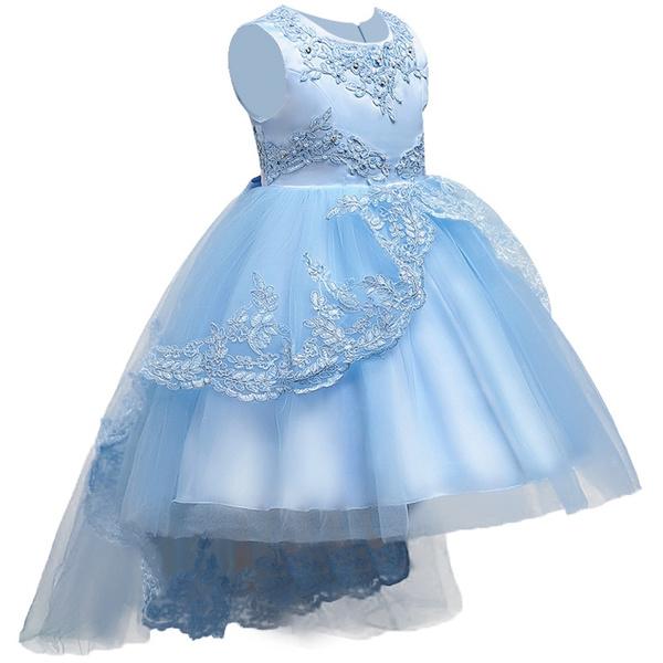 girlsbridesmaiddre, Lace, Evening Dress, Dress