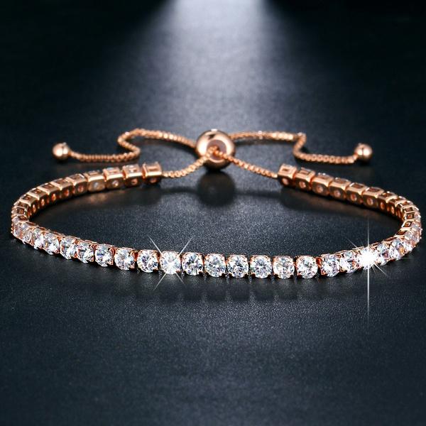Sterling, Crystal Bracelet, Fashion, Bracelet Charm