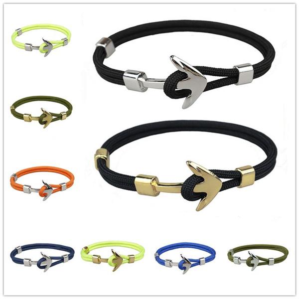 Polyester, Fashion, rope bracelet, Jewelry