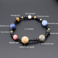 Bead, galaxybracelet, solarsystem, Jewelry