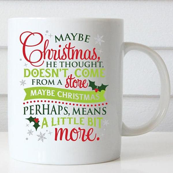 Coffee, Christmas, Coffee Mug, funnymug
