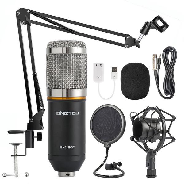 Microphone, micpopfilter, Mount, Metal