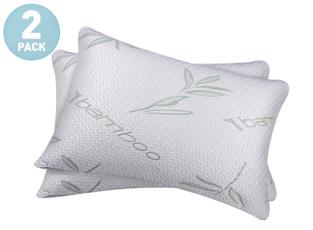 bamboopillow, memory foam, Bed Pillows, memoryfoampillow