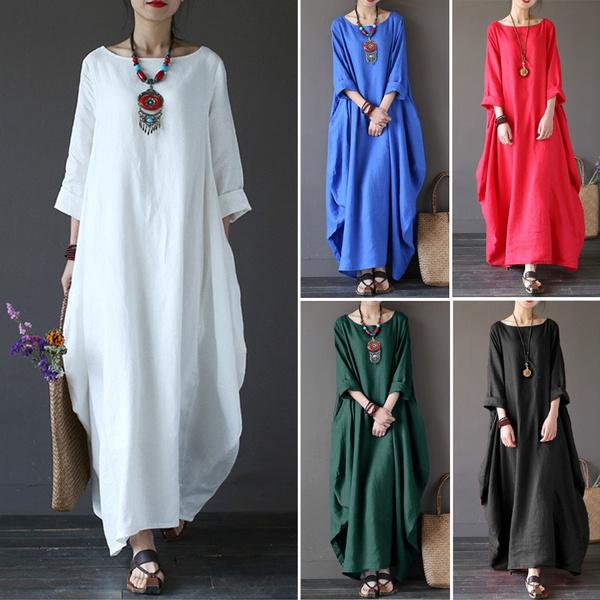 dressforwomen, Fashion, Shirt, long dress