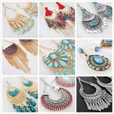 bohemia, Earring, boho, Dangle Earring