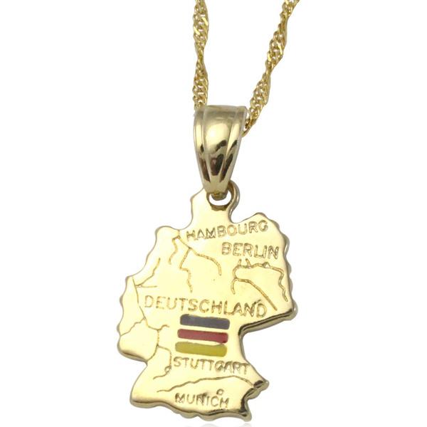 goldengermanyjewelry, mappendant, jewelrygermany, Jewelry