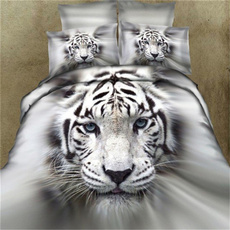 Blues, Tiger, Algodón, comfortercoverset