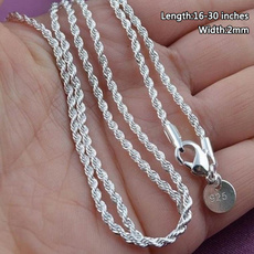 Sterling, Chain Necklace, Fashion, Necklace