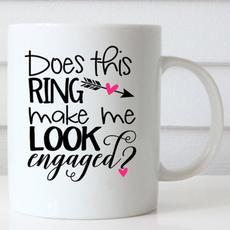 doesthisringmakemelookengagedmug, Coffee, Jewelry, Gifts