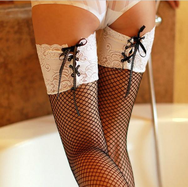 womensexylacelingerie, straplesslacedre, meshstocking, tighthighstocking