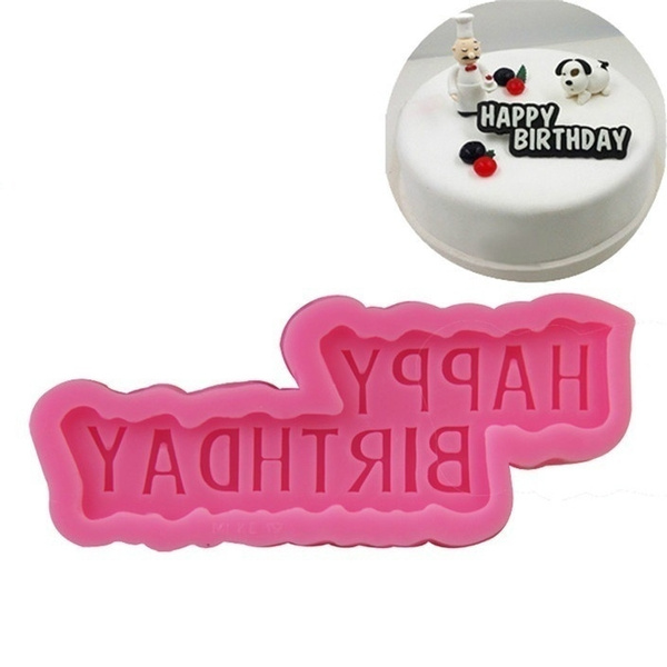happybirthday, caketool, Baking, fondantmold