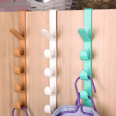 hangerhook, Door, 5hooksdoororganizer, clotheshook