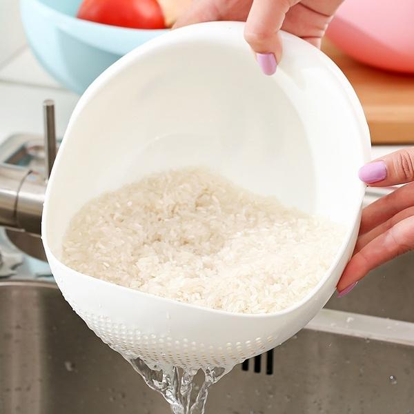 hotwashingricebasket, vegetableandfruitwasherdevice, Pure Color, Plastic