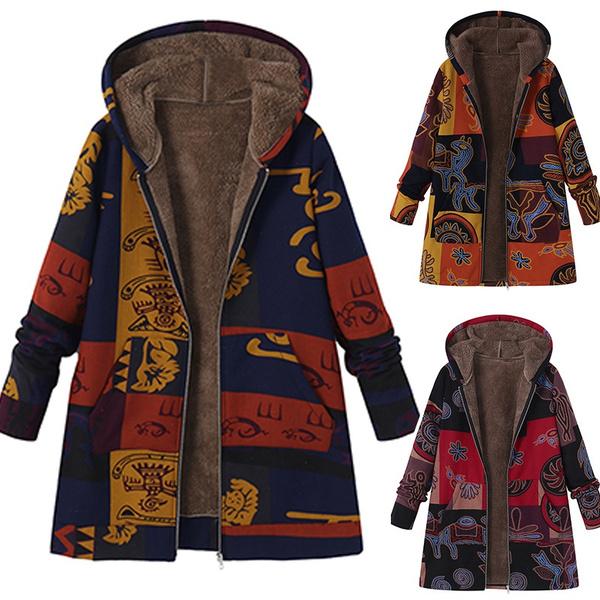 Women S Clothing, Fleece, hooded, fur