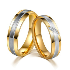 Couple Rings, Steel, Stainless Steel, Stainless