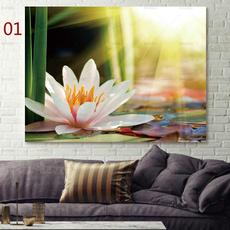 bedroom, decoration, modernprintsflower, Flowers