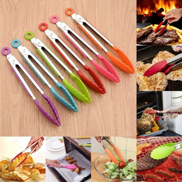 Steel, breadclip, Kitchen & Dining, barbecuetong