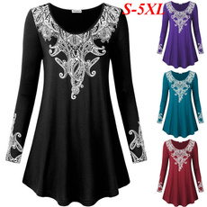 bohemia, blouse, paisley, Fashion