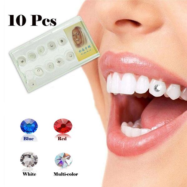 10pcs Dental Gems Imitation Crystal