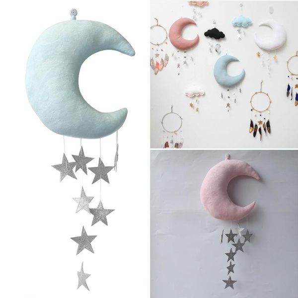 babybedroomdecor, wallhangingdecoration, Ornament, Moon