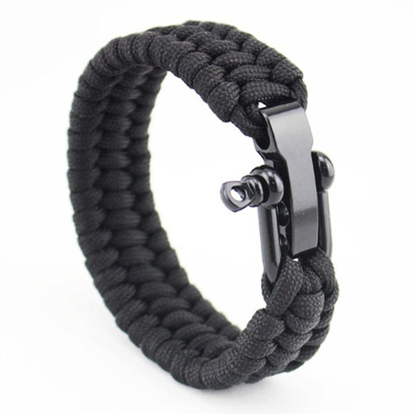 Outdoor, adjustablebracelet, Survival, Stainless Steel