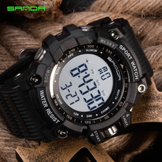 ledwristwatche, dial, digitalwatche, Waterproof Watch